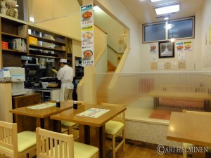 Fish breakfast in Hakodate
