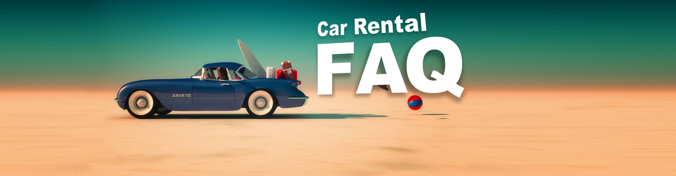 Few answered questions about the process, price, and legal requirements of car rental.