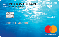 Norwegian Cruise Line<sup>®</sup> World Mastercard<sup>®</sup>